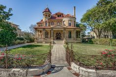 """Labeled an """"architectural masterpiece"""" and a jewel of the ornate King William neighborhood is one of the freshest homes available on the local real estate market."""