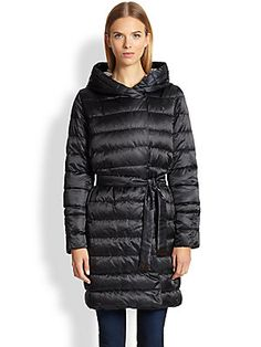 Max Mara Reversible Plaid Cube Puffer Jacket
