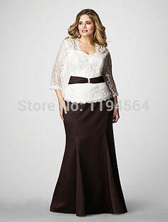 Resultado de imagen para vestidos para la mama de la novia talla grande