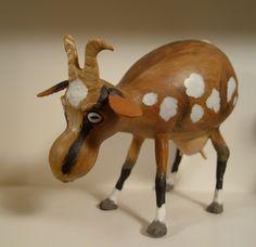 Goat Gourd, by Karen Cassara found at Main Street Gallery in Clayton, GA 2008