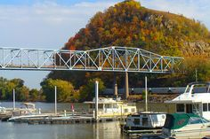 The Best Adventure Travel Destinations in Minnesota include the lovely landscapes and river views in Bluff Country. Red Wing Minnesota, Red Wing Mn, Adventure Tours, Adventure Travel, Red Pictures, Travel Pictures, Old Train Station, Worldwide Travel, Life Is A Journey