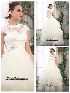Amazing Tulle & Satin With Lace Appliques Ball Gown Cap Sleeves Wedding Dress http://www.ckdress.com/amazing-tulle-satin-with-lace-appliques-ball-gown-cap-sleeves-wedding-dress-p-1589.html  #wedding #dresses #party #Luckyweddinggown #Luckywedding #design #style #weddingdresses #bridaldresses #love #me #cute #beautiful #girl #shopping #lovely #clothes #instagood #follow #fashion