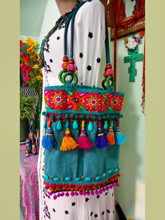 Boho Bags, Patchwork Bags, Fabric Bags, Fabric Jewelry, Handmade Bags, Fashion Bags, Purses And Bags, Textiles, Embroidery