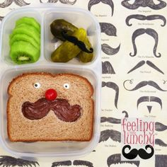 Super fun sandwich packed in #EasyLunchboxes