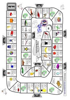 TE CUENTO UN CUENTO: Aprende las tablas de multiplicar con este Juego de la Oca