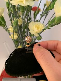 A little sparkle of joy in a little pavè ball encrusted with iridescent swarovski crystals for the E String on the violin #luxitune Brass Metal, Stones And Crystals, Violin, Iridescent, Swarovski Crystals, Rings For Men, Sparkle, Joy, Jewels