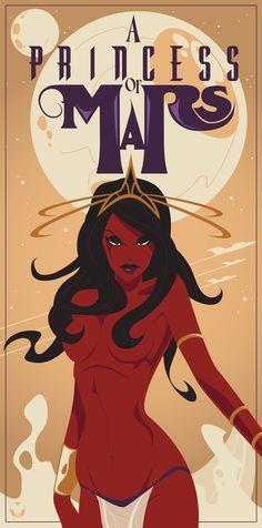 A Princess of Mars Dejah Thoris by *ittamar12