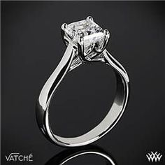 Square, solitaire diamond #Engagement #Ring ♡ How to organise an entire wedding, within your budget … so much wedding planning information … for less than a cup of coffee https://itunes.apple.com/us/app/the-gold-wedding-planner/id498112599?ls=1=8 ♥ Weddings by Colour http://pinterest.com/groomsandbrides/boards/ ♥