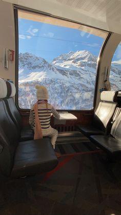 Bernina Express, Train Rides, Travel With Kids, Switzerland, Airplane View, Travel Inspiration, Travelling, Road Trip, Around The Worlds