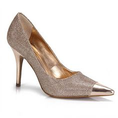Sapato Feminino Lara Costa 1554870 - Bronze