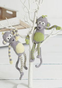 Noahs Ark - The Citrus Monkeys in Sirdar Snuggly Baby Bamboo DK. Discover more Patterns by Sirdar at LoveKnitting. The world's largest range of knitting supplies - we stock patterns, yarn, needles and books from all of your favourite brands.