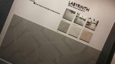 Attenzione a non perdersi nel Labyrinth, la nuova collezione di #RefinCeramiche design by Giulio Iacchetti Pad 36 #Cersaie2015 #MCaroundCersaie