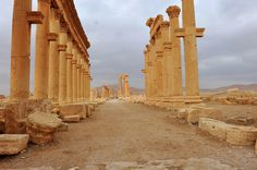 Places Around The World, Around The Worlds, Beautiful Ruins, Palmyra, Stone Work, Ancient Romans, Ancient Greece, Building Design, Archaeology