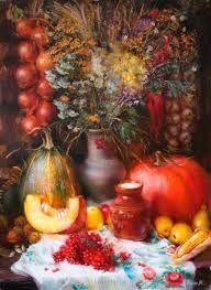 Картинки по запросу гарбуз в живописі