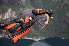 Wingsuit Jumping by Mr. Predator