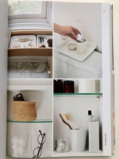 Remodelista The Organized Home bathroom storage