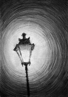 Old Street Lamp Art Print by Di Fernandes Old Street Lamp art . Old Street Lamp Art Print by Di Fernandes Old Street Lamp art print by Di Fernand Easy Pencil Drawings, Cool Art Drawings, Art Drawings Sketches, Drawing Ideas, Disney Drawings, Drawing Tips, Easy Charcoal Drawings, Cool Simple Drawings, Charcoal Drawing Tutorial
