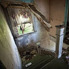 Abandoned home. More is on my website Abandoned America.   by abandoned_america