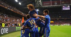 Chelsea made it back-to-back European wins as they claimed the Europa League with a 2-1 win over Benfica in the Amsterdam Arena. #chelsea #soccer #sports