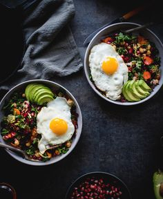 Miso Veggie Breakfast Bowl + Asheville Photography