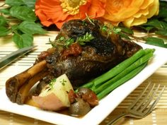 Fall-Off-the-Bone Crock-Pot Lamb Shanks