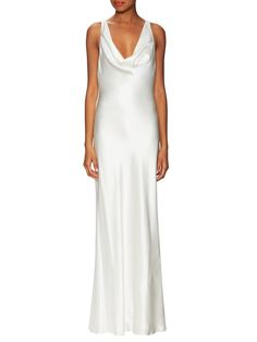 eb99406f810 Drape Gown with Criss Cross Back by ABS by Allen Schwartz at Gilt