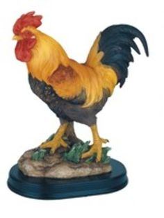George S Chen Imports Rooster Chicken Farm Animals Decoration Figurine Collection -- To view further for this item, visit the image link. Porcelain Dolls Value, Porcelain Dolls For Sale, Rooster Statue, Ceramic Chicken, Ceramic Rooster, Chicken Painting, Rooster Kitchen, Rooster Decor, Chickens And Roosters