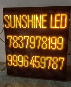 The led display board is great for getting the attention of many of your potential customers. Led display board easily catches the eyes of the audience. You can buy a Led display board from Sunshine LED & Display system. Sunshine is a leading manufacturer company of LED Display Board in Mumbai. Led Sign Board, Sign Boards, Led Display Board, Led Video Wall, Led Signs, In Mumbai, Digital Signage, Sunshine, Commercial