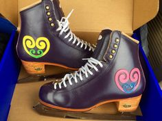 Riedell Skate's will build custom ice skates to your specifications with 25 colors & diverse material options! Ice Skating, Figure Skating, Custom Boots, Bradford, Skates, Combat Boots, Congratulations, Creativity, Dreams