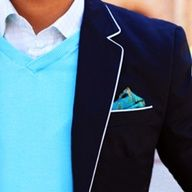 Blue. Masculine style. Embrace luscious living with LUSCIOUS: www.myLusciousLife.com