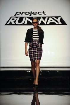 Project Runway Season 8 - Mondo Guerra - I LOVED this skirt, color, form, the whole outfit!
