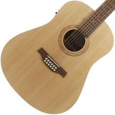 Seagull Excursion 12 String Walnut | Available at Garrett Park Guitars | www.gpguitars.com