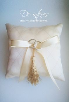 "Подушечка для колец из коллекции ""Аристократ"" Wedding ring pillow"