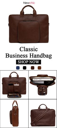 Ekphero Men Solid Casual Handbag Multi-function Business Crossbody Bag is  hot-sale, many other cheap crossbody bags on sale for men are provided on  NewChic. 6be174d58d