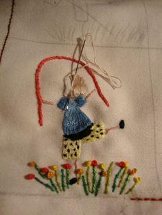 Resultado de imagem para fotos dos bordados das irmas de pirapora