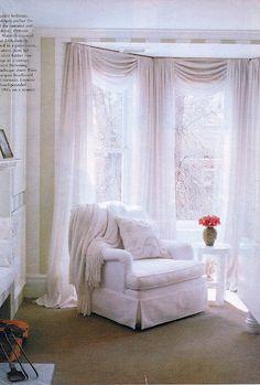 elegant curtain design for master bedroom