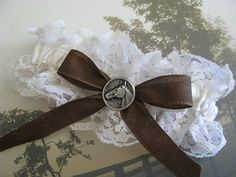 Hey, I found this really awesome Etsy listing at http://www.etsy.com/listing/153034912/western-wedding-ivory-lace-horse-wedding