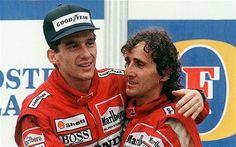 Duelo de Titanes: Ayrton Senna vs Alain Prost, amargo final