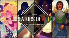 We've been on the edge of our seat all week waiting to introduce you to this amazing Tumblr account that opened just recently. Not Your Yt OCs is a space dedicated to highlighting the work of creators of color, particularly artists and writers in the Bioware fandom. Awesome, right? It gets even better.   FemHype #SundayLoot