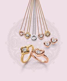 Viventy Jewels | Flirty Flowers | Colliers, earrings and rings | Kaulakorut, korvakorut ja sormukset | www.diamo.fi