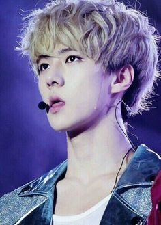 My goodness Sehun! How can you be cute and sexy at the same time