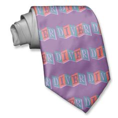 Shopping for customizable Retro ties is easy on Zazzle. Browse through our thousands of designs or design your own necktie. Gifts For Scuba Divers, Custom Ties, Design Your Own, Cool Designs, Retro, Retro Illustration