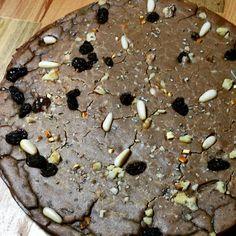 Chestnut cake...Castagnaccio