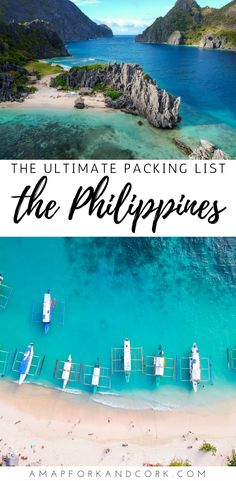 Philippines travel packing | Packing list for 2 weeks of backpacking in the Philippines | #Packinglight #Packinglist #Philippines
