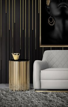 Sophisticated Living Rooms, Elegant Living Room, Feature Wall Design, Style Deco, Wall Cladding, Luxury Kitchens, Luxurious Bedrooms, Furniture Design, Luxury Furniture