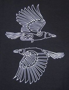 Huginn and Muninn.