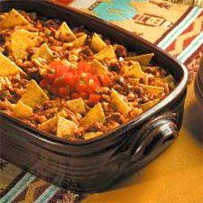 Taco Casserole - Easy Low calorie Recipes - http://toprecipesmagazine.com/taco-casserole-easy-low-calorie-recipes/