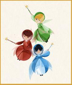 :) flora, fauna, and merriweather! It's the 3 fairies from Sleeping Beauty! Yay! @Jen Lipscomb & @Kristin Lee!!! <3!!