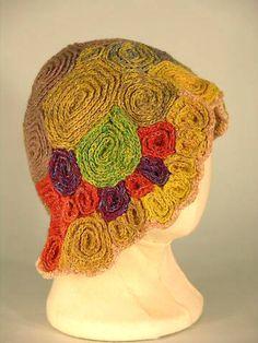 crochet art hat