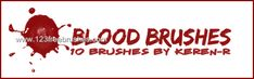 Blood 6 - Download  Photoshop brush http://www.123freebrushes.com/blood-6-2/ , Published in #BloodSplatter, #GrungeSplatter. More Free Grunge & Splatter Brushes, http://www.123freebrushes.com/free-brushes/grunge-splatter/   #123freebrushes